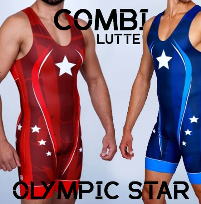 Lutte Combinaisons Olympic Star