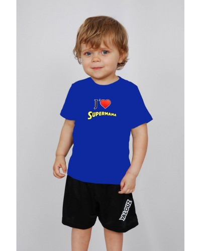 T-shirt enfant 'Super Mama'