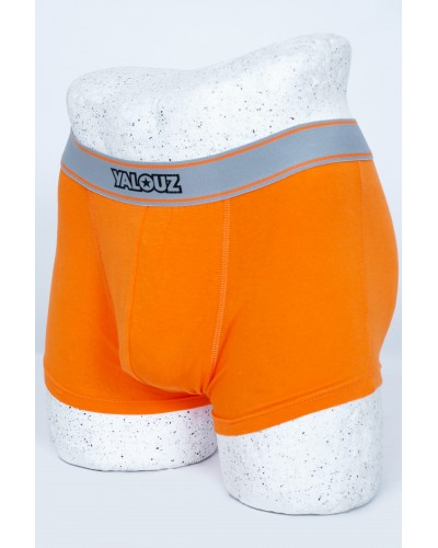 Boxer caleçon orange