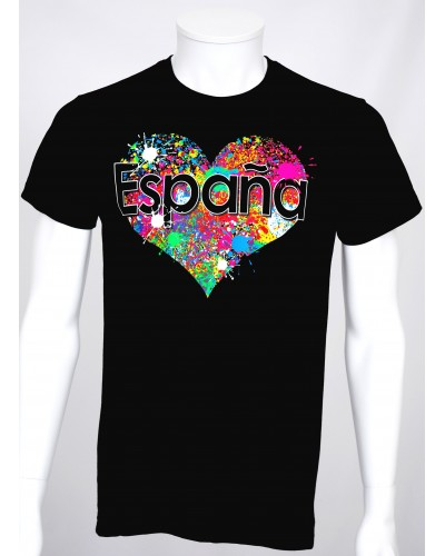 T-shirt Pop Art 'Espana' H & F
