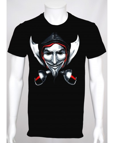 T-shirt Pop Art 'Anonymous...