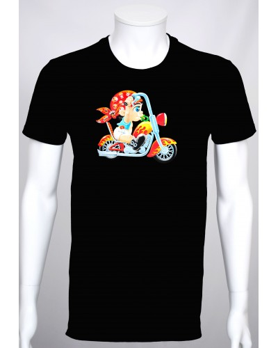 T-shirt Cartoon 'Bébé Motard'