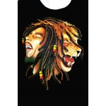 T-shirt Cartoon 'Bob Marley...