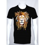 T-shirt Cartoon 'Lion Music'